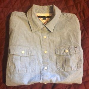 Tommy Hilger chambray shirt.  Washed never worn. M